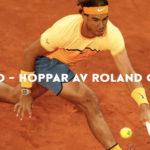Nadal har hoppat av Roland Garros